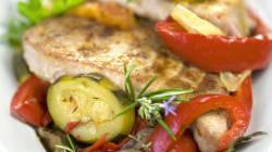 La recette du week-end: thon à la ratatouille