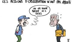 Kofi Annan reconnaît l'échec des missions en