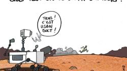 Que peut-on découvrir sur Mars