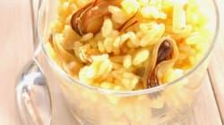La recette du week-end: Risotto jaune aux
