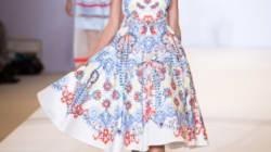Ma Fashion Week à Londres: le défilé de
