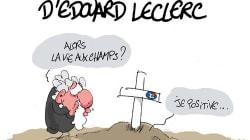 Décès d'Edouard