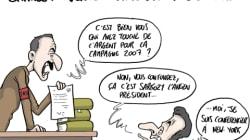 Sarkozy inquiété dans l'affaire