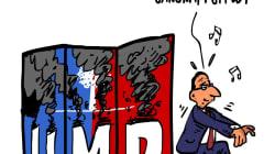 Hollande danse le Gangnam style quand ça brûle à