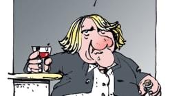 Depardieu ivre en scooter: la garde à