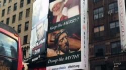 Natale 2012: gli atei invadono Times