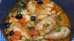 La recette du week-end: le poulet aux olives au