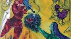 L'homme aux semelles de vent: Marc Chagall au musée du