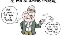Jean-Marie Le Pen ne sort pas de