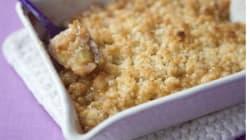 La recette du week-end: Crumble à la rhubarbe et aux