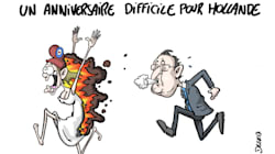 Hollande à l'Elysée: Un an ça se