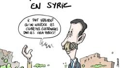 Arme chimique : La Syrie va-t-elle reconnaître son utilisation