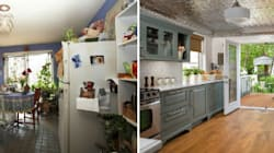 A DIY Paint Job in a Tatty Kitchen Saves the