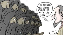 Les Français sont contre le port du voile à