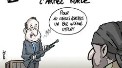 La France veut livrer des armes en