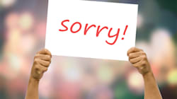 5 Common Apologies We Must Stop Using During Our