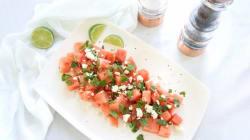 RECIPE: Fresh Watermelon Mint And Feta