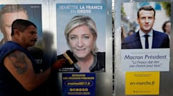 Emmanuel Macron And Marine Le Pen Set To Win First Round Of France's Presidential