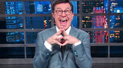 Stephen Colbert Couldn't Be Happier After Trump Slams Him As A Filthy