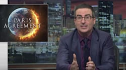 John Oliver Blasts 'F**king Egomaniac' Trump For Bailing On Paris