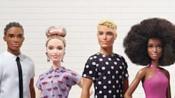 Ken Doll Gets A Makeover With New Body Types, Skin Tones And