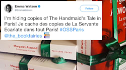 Emma Watson Is Hiding Copies Of 'The Handmaid's Tale' Around