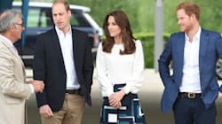 Will, Kate And Harry Are Knockouts For Mental