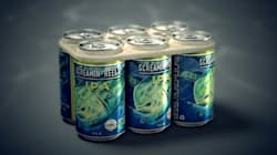 Edible Six-Pack Rings Act As Fish Food If They Make It To The