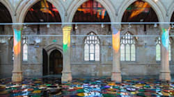Artist Transforms 19th Century Church Into Kaleidoscope Of