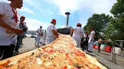 The Longest Pizza In The World Is Not For The Faint Of