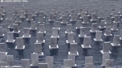 'Sea Cemetery' Commemorates Syrian Refugees Who Died Trying To Reach