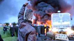 Dramatic Photos Capture The Chaos In France As Strikes