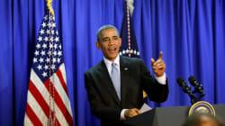 Obama 'Singing' Rihanna's 'Work' Is Keeping America