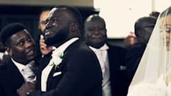 Groom's Emotional Reaction To His Bride Will Make You Tear Up,