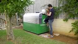 This Machine Turns Your Food Waste Into Gas For