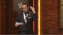 Lin-Manuel Miranda Accepts Tony By Reading A Sonnet Tribute To