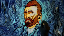 Artist Recreates Iconic Van Gogh Paintings On 'Canvas' Of