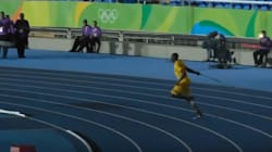 Usain Bolt Throws The Javelin 56m In Rio Olympic