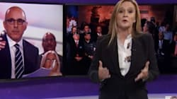 Samantha Bee Rips 'Human Splenda' Matt Lauer, And It's