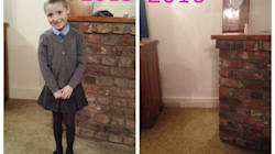 Mum's Devastating First Day Of School Photo Has A Powerful