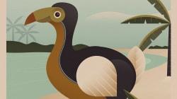 Nostalgic Travel Posters Showcase Extinct Animals You'll Never Get To