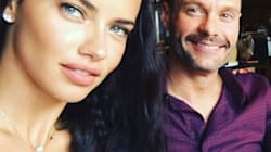 So, Ryan Seacrest And Adriana Lima Are Apparently