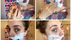 These Photos Prove There's No Shame In Women Having Facial