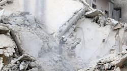 Dozens Of Airstrikes Hit Rebel-Held Aleppo In