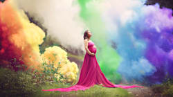 After 6 Miscarriages, Mom Celebrates Rainbow Baby With Breathtaking
