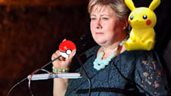 Norway's Prime Minister Caught Playing Pokemon Go In