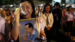Photos From Thailand Show An Outpouring Of Grief After King's