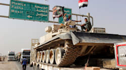 Iraqi Army Drops Leaflets Over Mosul As Forces Prepare For