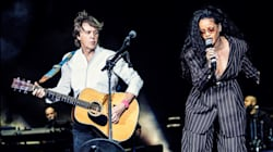 Rihanna Surprises Crowd At Desert Trip To Perform With Paul