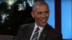 Obama: 'Michelle me pide el divorcio si me postulo para presidente de
